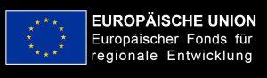 Logo Europäische Union mit Hinweis auf den Europäischen Fond für regionale Entwicklung